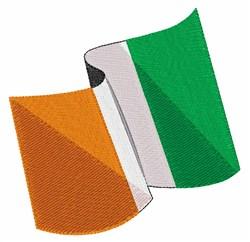 Irish Flag embroidery design