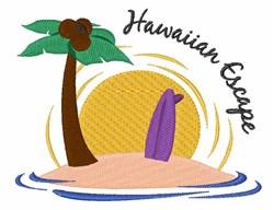 Hawaiian Escape embroidery design