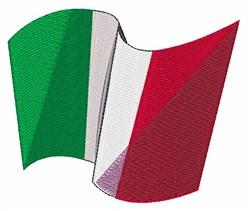 Italian Flag embroidery design