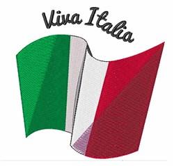Viva Italia embroidery design
