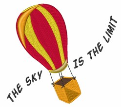 Sky Is Limit embroidery design