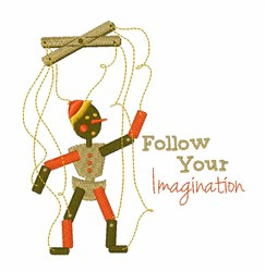 Follow Iimagination embroidery design