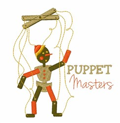 Puppet Masters embroidery design