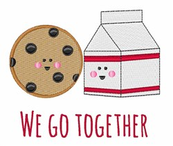 Go Together embroidery design
