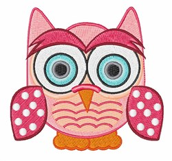 Funny Owl embroidery design