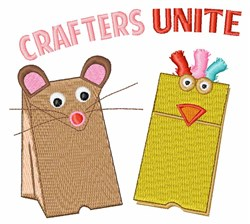 Crafters Unite embroidery design