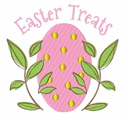 Easter Treats embroidery design
