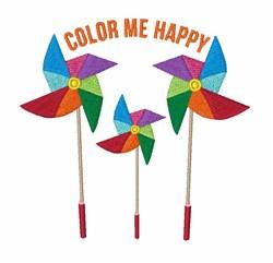 Color Me Happy embroidery design