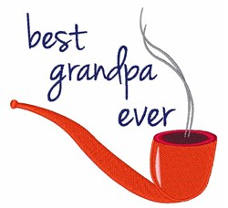 Best Grandpa embroidery design