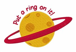 Ring On It embroidery design