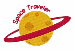Space Traveler embroidery design