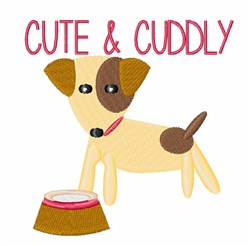 Cute & Cuddly embroidery design