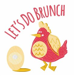 Do Brunch embroidery design