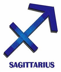Sagittarius embroidery design