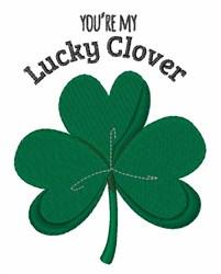 Lucky Clover embroidery design