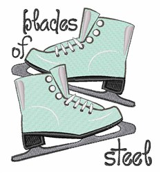 Blades Of Steel embroidery design