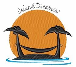 Island Dreamin embroidery design