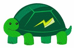 Fast Turtle embroidery design