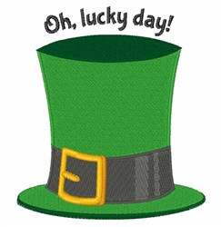 Lucky Day embroidery design