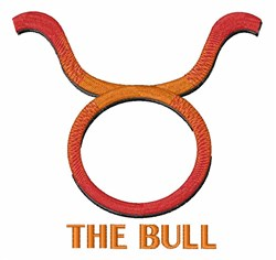 The Bull embroidery design