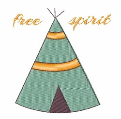 Free Spirit embroidery design