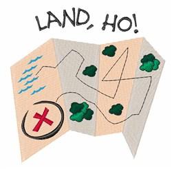 Land Ho embroidery design