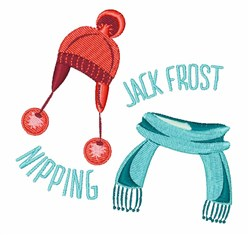 Jack Frost embroidery design