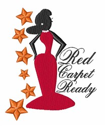 Red Carpet embroidery design