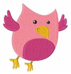 Funny Bird embroidery design