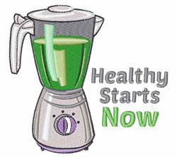 Healthy Starts embroidery design