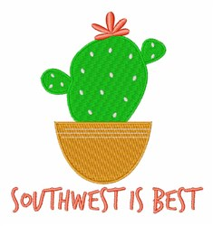 Southwest Is Best embroidery design
