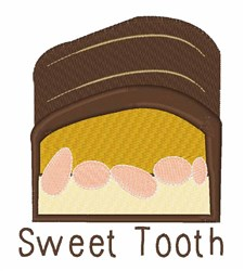 Sweet Tooth embroidery design