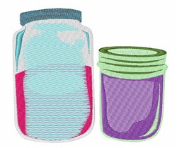 Canning Jars embroidery design
