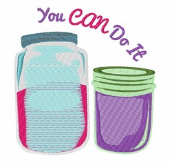 Can Do It embroidery design