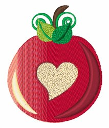 Red Apple embroidery design