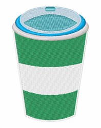 Coffee Cup embroidery design