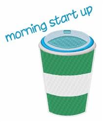 Morning Start embroidery design