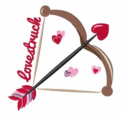 Love Struck embroidery design