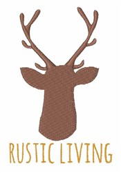 Rustic Living embroidery design