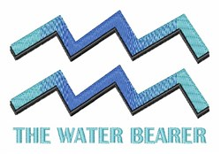 Water Bearer embroidery design