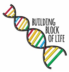 Block Of Life embroidery design