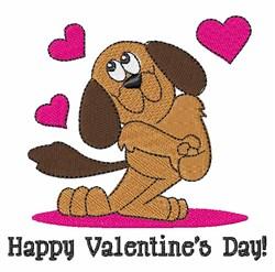 Happy Valentines embroidery design