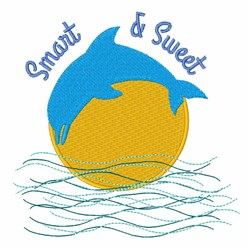 Smart & Sweet embroidery design