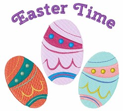 Easter Time embroidery design