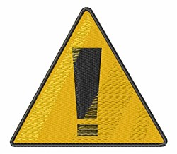 Traffic Sign embroidery design
