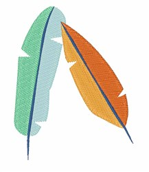 Bird Feathers embroidery design