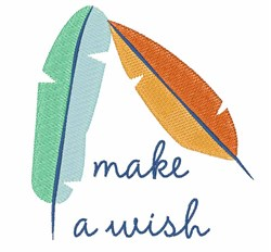 Make A Wish embroidery design
