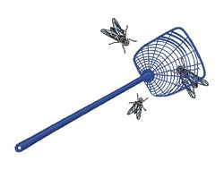 Fly Swatter embroidery design