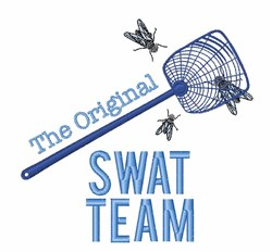 Swat Team embroidery design