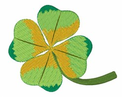 Lucky Shamrock embroidery design
